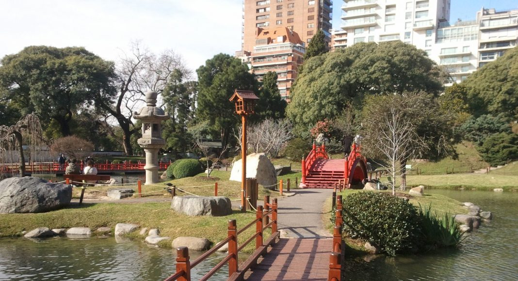 Japanse tuin Buenos Aires