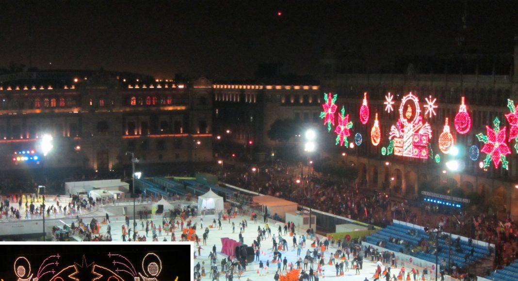Kerst mexico-stad