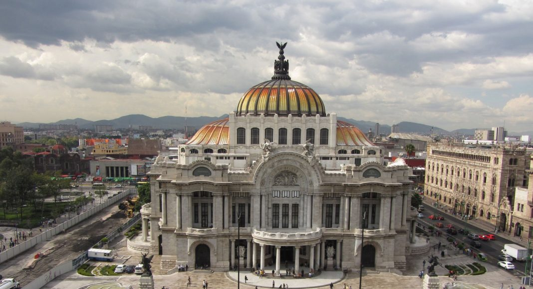 Mexico-Stad Bellas artes