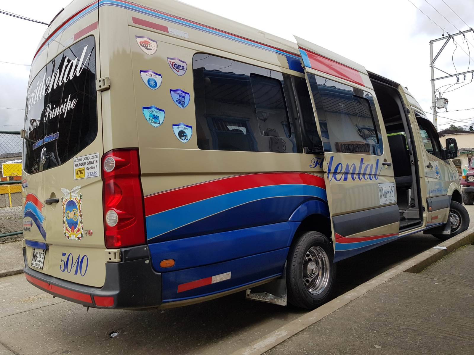Colombia bussen stad